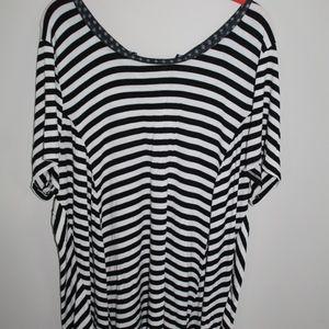 Avenue Women's Striped Blouse